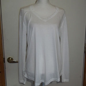 Long Sleeve T-Shirt With Cut Outs XXL